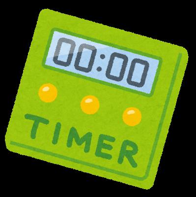ゲーム時間はタイマーで管理