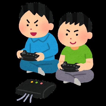 ゲームの付き合い方『番外編』子供と一緒にゲームをする