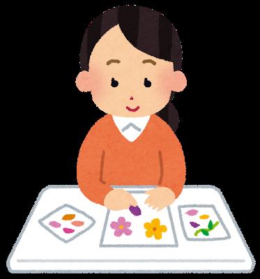 小学生低学年の工作・自由研究~押し花でしおりを作ろう~