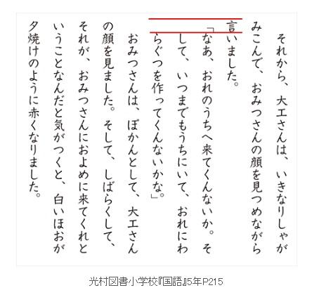 作文のかぎかっこ【改行の使い方】