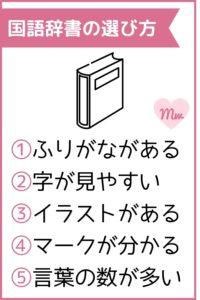 小学生向け国語辞書の選び方