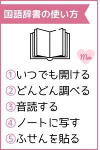 小学生向け国語辞書の使い方